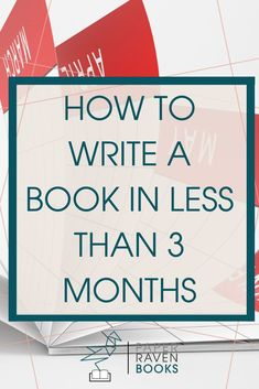 Wondering how long it takes to write a book? In this post, I get super specific about how I fit writing into my life and wrote my book in less than three months! #writingtips #finishthebook #writingadvice #writeabook #selfpublishing