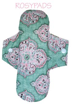 """8"""" Light Flow, Reusable Pad, Reusable Menstrual Pads, Reusable Cloth Pads,  100% Cotton & PUL by RosyPads on Etsy"""