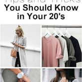 50 fashion s and trick to help you become stylish in your 20's and stay stylish in your 30's!