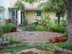 I strongly feel I need a labyrinth for my garden.