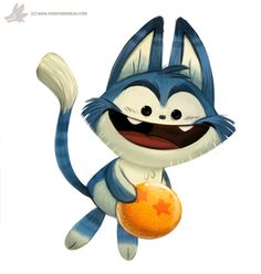 Daily Painting #865. Puar by Cryptid-Creations.deviantart.com on @DeviantArt