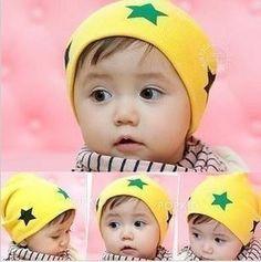 3580560ad63 spring   autumn baby hats kids pocket the five-star beanie children warm  caps