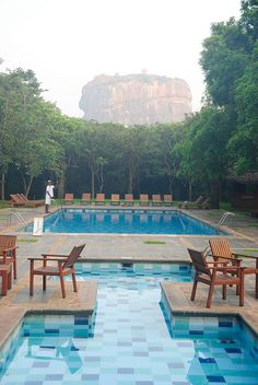View of the Sigiriya Rock Fortress - Sri Lanka