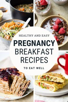 Pregnancy Breakfast Ideas that you will love! This collection of healthy pregnancy recipes will power you through the day. This list includes nutritious breakfasts to eat while pregnant, including best breakfast recipes that are easy to eat in case you Foods To Avoid, Foods To Eat, Slimming World, Pregnancy Breakfast, Outfits Hipster, Healthy Pregnancy Food, Healthy Pregnancy Recipes, Pregnancy Nutrition, Pregnancy Lunches