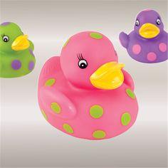 Light up ducks- bathtime just got 100x more fun.