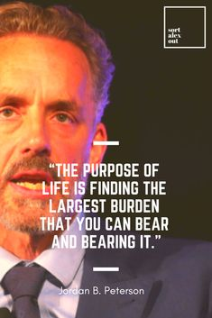 Jordan Peterson has been called one of the most original thinkers of our time. At the same time he's been called a fascist and a racist. What's the deal with this guy, why is he such an intellectual behemoth and why all of a sudden? Wisdom Quotes, Quotes To Live By, Life Quotes, Positive Quotes, Motivational Quotes, Inspirational Quotes, The Words, Fed Up Quotes, Calling Quotes