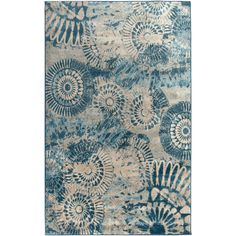 Found it at Wayfair - Blue Area Rug