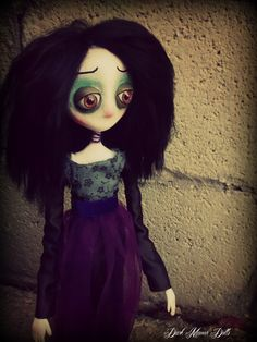 Gothic Art Doll, OOAK Handmade Dark Manor Doll: Margaret