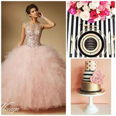 Kate Spade #Quinceanera Theme | Quinceanera Ideas |