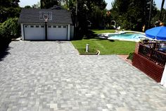Basketball lines for driveway