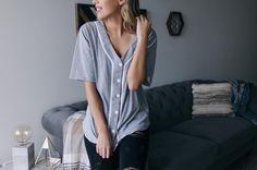 Oversized tees | Women's fashion #hunnistyle