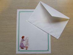 Papel de carta antigo - Coleção Sarah Kay