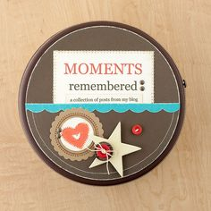 """Moments"" tin from #CTMH."