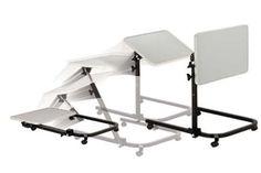 `Multi-position Pivot & Tilt Overbed Table