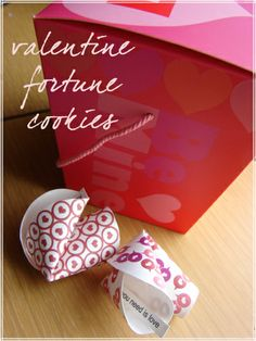 free printable paper fortune Cookies