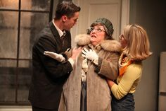 """Neil Simon's """"Barefoot in the Park"""" gets true-to-period treatment by Step Up Productions Barefoot In The Park, Step Up, Southport, Fur Coat, It Cast, Theater, Fashion, Moda, La Mode"""