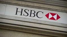 HSBC logo  ATSocialMedia.co.uk #RePin