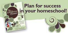 Plan for setting up a homeschool notebook.