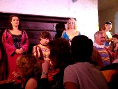 Entertainment from Bunratty Castle Medieval Dinner