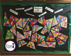 Take your geometry lesson up a notch by integrating the arts.  This colorful geometry lesson is sure to engage your students and brighten up your classroom.