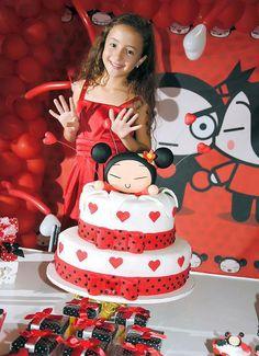 Genial torta con Pucca !!