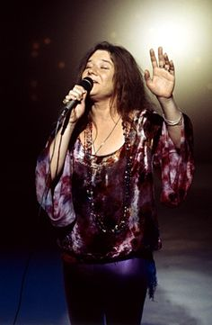 Janis Joplin Janis Joplin, 27 (1943-1970): Janis was known as the white girl who sang the blues. A lot of white girls have sung the blues, of course, some of them just as well as the insecure girl from Port Arthur, Texas. But few of them seemed to live the blues quite as thoroughly as Janis.  Joplin rumored to have died of a broken heart; was officially taken from us by a drug overdose.