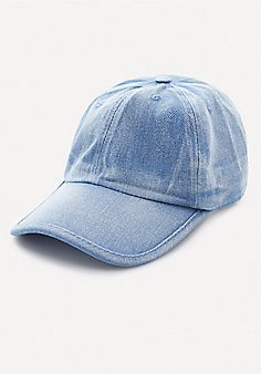 eef47024a98 Washed+Denim+Baseball+Cap Denim Baseball Cap