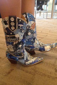 1000+ ideas about Dallas Cowboys Boots on Pinterest