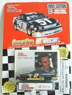 1995 Racing Champions #2 Rusty Wallace Ford Motorsport Thunderbird 1:64 #RacingChampions #Ford