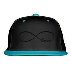 Love Embroidered Snapback Hat