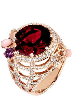 POMELLATOS POM POM COLLECTION RINGS | The Last Doll Standing: Ruby Tuesday (and diamonds, and emeralds, and ...