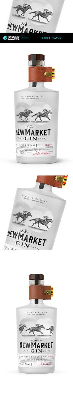 The Dieline Awards 2017: The Newmarket Gin — The Dieline | Packaging & Branding Design & Innovation News