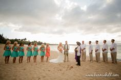 Maui Weddings Packages of Maui beach weddings by Simple Maui Wedding: Maui Beach Wedding - Brenae & Anthony's Maui Wedding Preview by Simple Maui Wedding   The perfect colors!