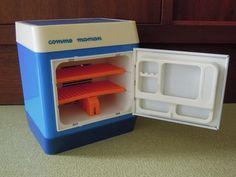Jouet ancien cuisine COMME MAMAN réfrigerateur - Jouets vintages chez ApiFamily - Jeux de marchand & cuisine - Jouets - DaWanda