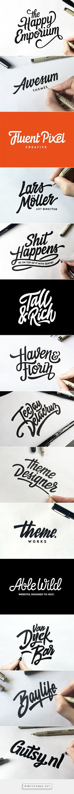 Lettering & Logotype Vol.2 by Paul von Excite