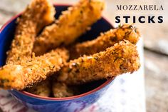 Receita fácil pra receber em casa: Mozzarela Sticks ! ( Receita: Dedo de Moça )