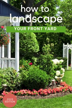 You are trying to find out how to landscape your front yard without breaking the bank. Here are 7 helpful tips to get your landscaping project started. Landscape Plans, Landscape Design, Front Yard Landscaping Pictures, Lawn And Garden, Home And Garden, Farmhouse Garden, House Front, Garden Ideas, Backyard Ideas