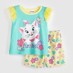 Disney Baby Aristocats Marie Infant & Toddler Girl's Pajamas - Baby - Baby & Toddler Clothing - Character Apparel