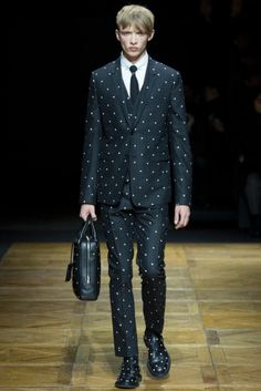 Dior Homme suit, Fall 2014.