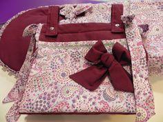 b e b e t e c a: COLORES IMPACTANTES. bebetecavigo.Bolso panera de tela en colores impactantes.