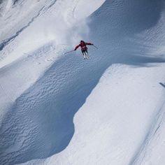 Countdown's on...#MondayMotivation Haines, Alaska - Skier @drewtabke - Snapped by @davidcarlierphotography