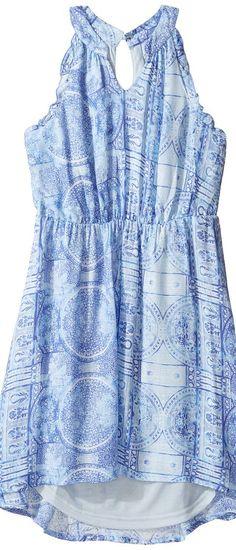 O'Neill Kids Tsunami Woven Tank Dress (Big Kids) (Multicolored) Girl's Dress - O'Neill Kids, Tsunami Woven Tank Dress (Big Kids), SP7816017-994, Apparel Top Dress, Dress, Top, Apparel, Clothes Clothing, Gift, - Street Fashion And Style Ideas