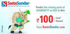 #Predict the closing point of #BANKNIFTY at #NSE  http://www.foreseegame.com/user/GamePlay.aspx?GameID=mfvAWD5IALpnOIB1RuwFdQ%3d%3d