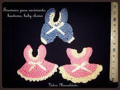 Enteritos y vestiditos | Valora manualidades www.valoraweb.blogspot.com.ar #crochet #souvenirs
