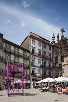 Portugal's Tripod Art Installation by LIKEarchitects