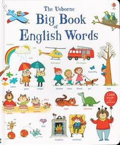 A colorful picture word book with illustrations of around a thousand everyday words and pictures. Words are arranged by theme, providing lots to spot and talk about together. A fun way to build a child's vocabulary, with delightful pictures to pore over.