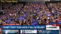 Trump: I'm going to take a lot of Bernie Sanders' attacks against Hillary Clinton and use them