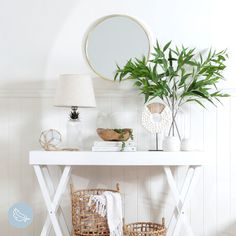 Get that Hamptons feel you've always dreamed of with our Akila Table Lamp, Arabelle Mirror and Atlantic Sculpture. #PillowTalk #ForTheLoveOfComfort #HomeDecor #Hamptons #HamptonsStyle
