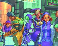 Video Game Art - Phantasy Star Online promotional artwork