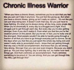 Chronic illness- attempting to harm, injure or hurt someone who is chronically ill and struggling with recent traumas such as homelessness, unemployment, assault/abuse is purely evil. It is satanic. There is a special place reserved in hell for people like this. iei you know who you are...